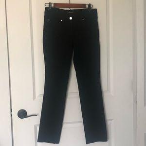 White House Black Market Slim Ponte Pants Black 4
